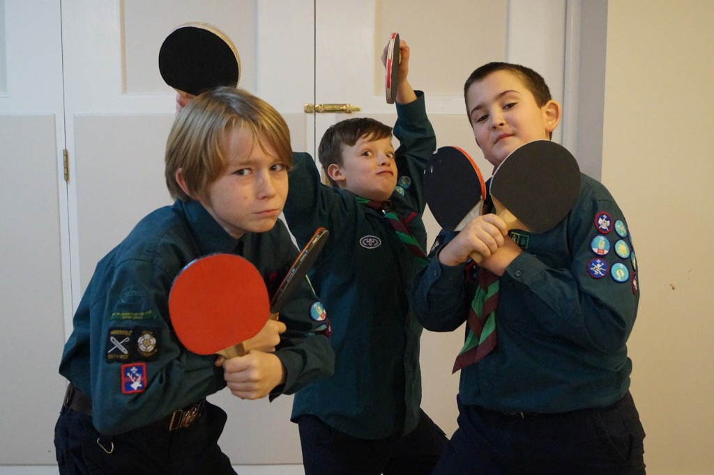The Table Tennis Team for 2016