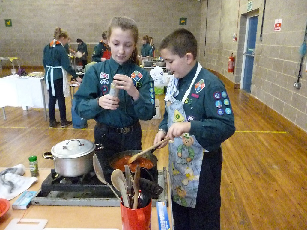 2016 - District Cooking Competition - Scouts