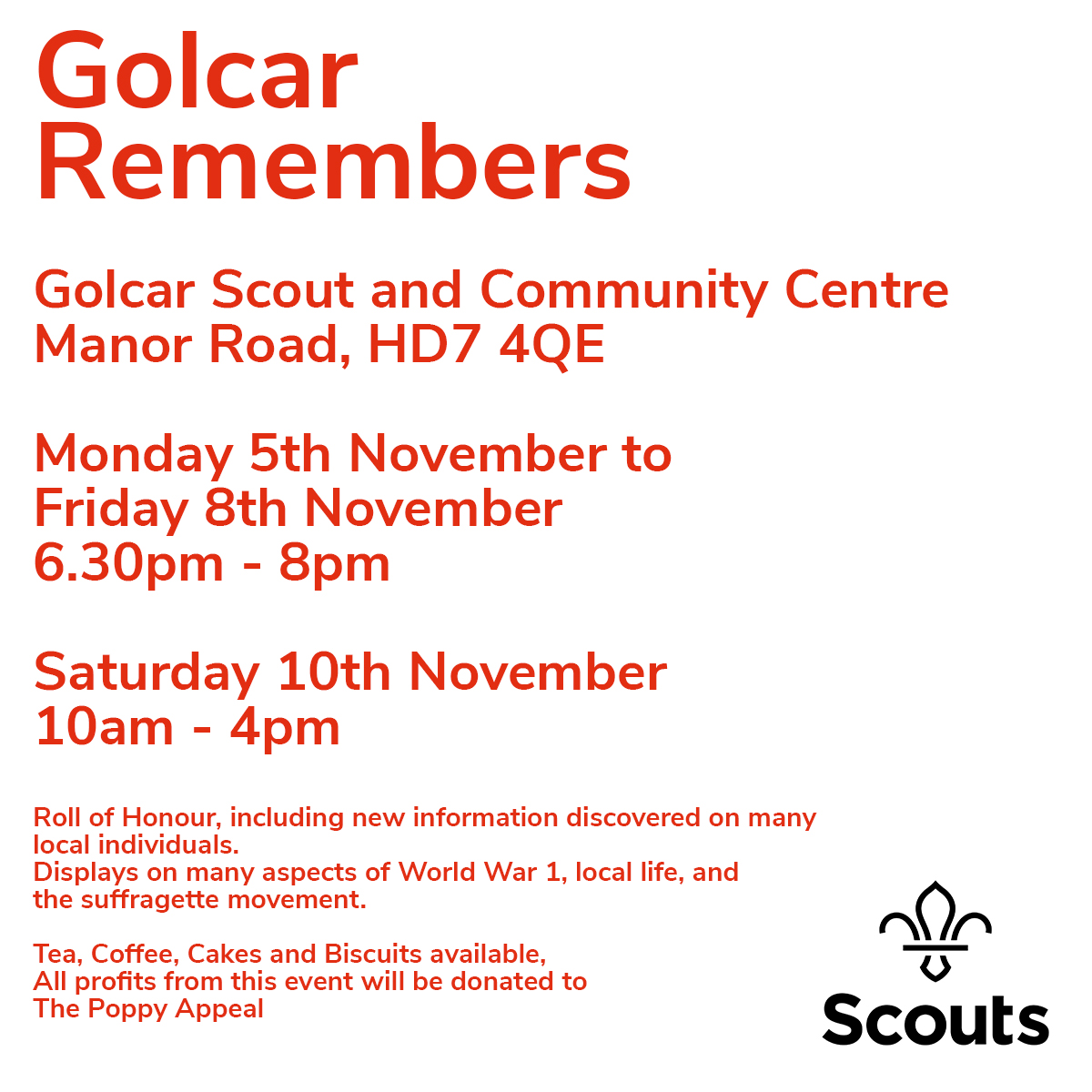 Golcar-Remembers