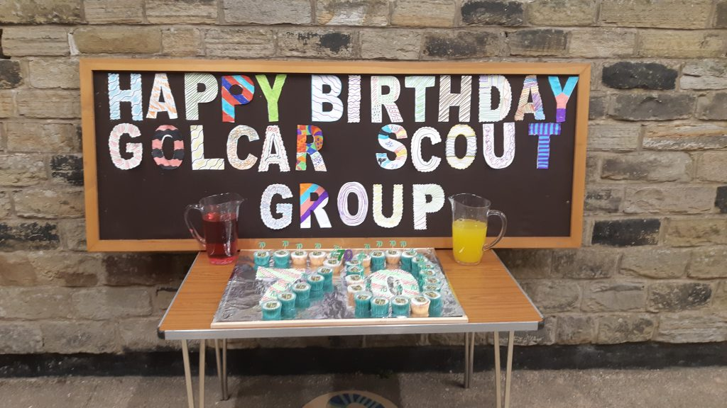 Happy Birthday 4th Golcar Scouts